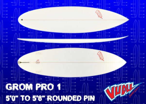 Vudu Grom Pro 1 Rounded Pin