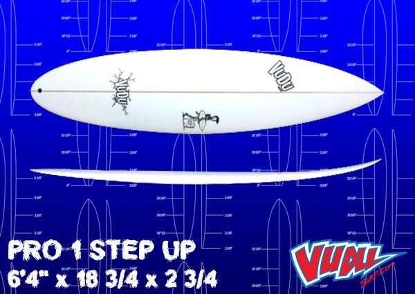 pro 1 step up vudu surf. Black Bedroom Furniture Sets. Home Design Ideas