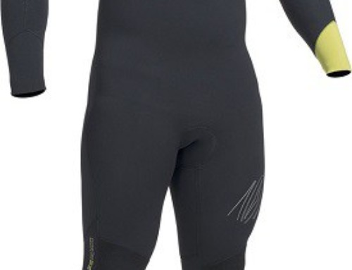 GUL RESPONSE CHEST ZIP 4/3MM BS WETSUIT