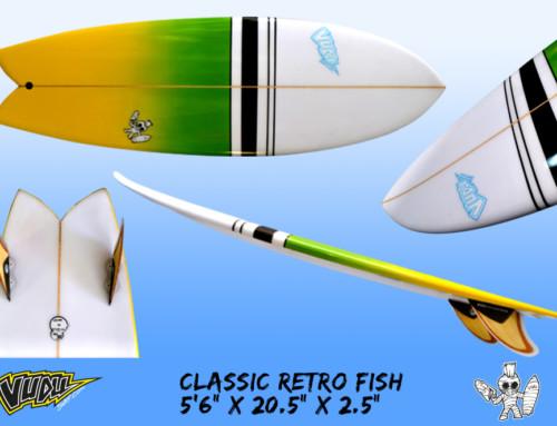 Vudu Retro Twin Fish
